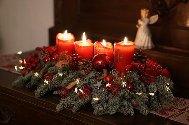 Adventskranz selber machen an Weihnachten