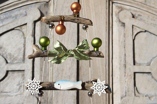 Deko aus Holz weihnachtilch