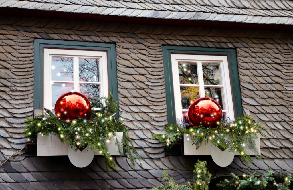 außendekoration weihnachten