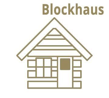 28-40 mm Blockbohlenhaus