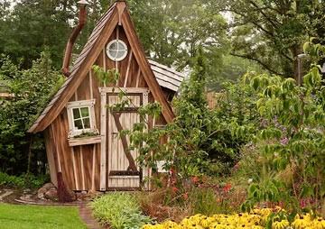 Das eigene Gartenhaus im Garten