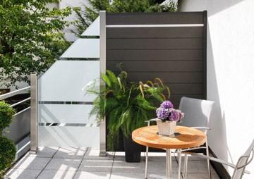 Sichtschutz für Terrasse