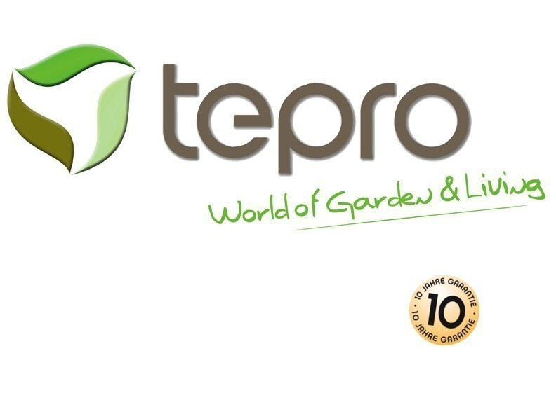 Tepro Kunststoff-Gerätehaus Gartenhaus Oakland 757 - braun-grau