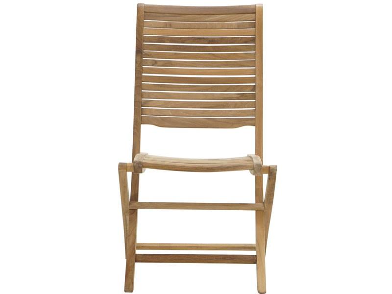 Ploss Gartenmöbel Klappstuhl York aus Premium-Teak  46 x 61 x 103 cm
