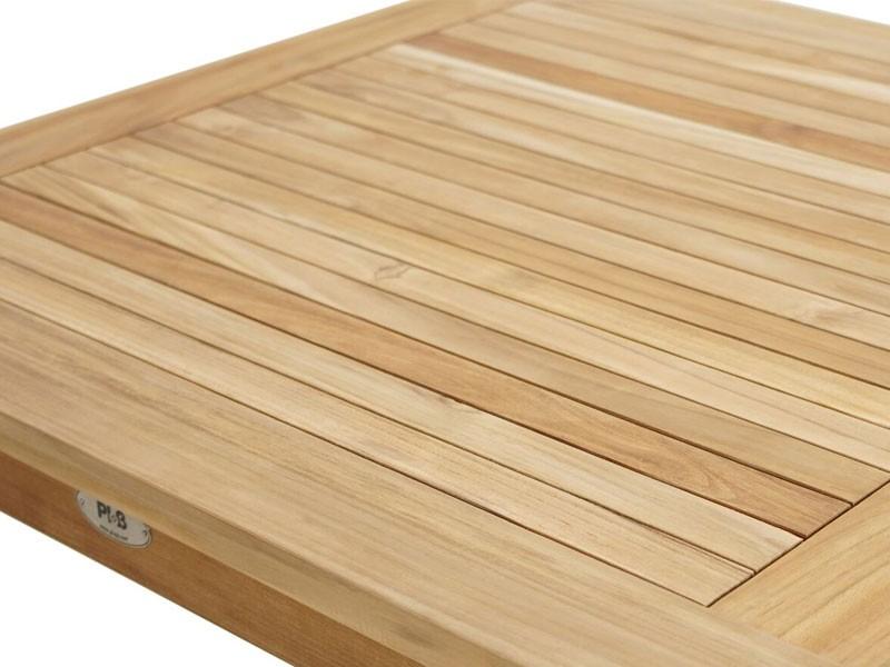 Ploss Gartenmöbel Gartentisch Memphis aus Premium-Teak  80 x 80 x 75 cm