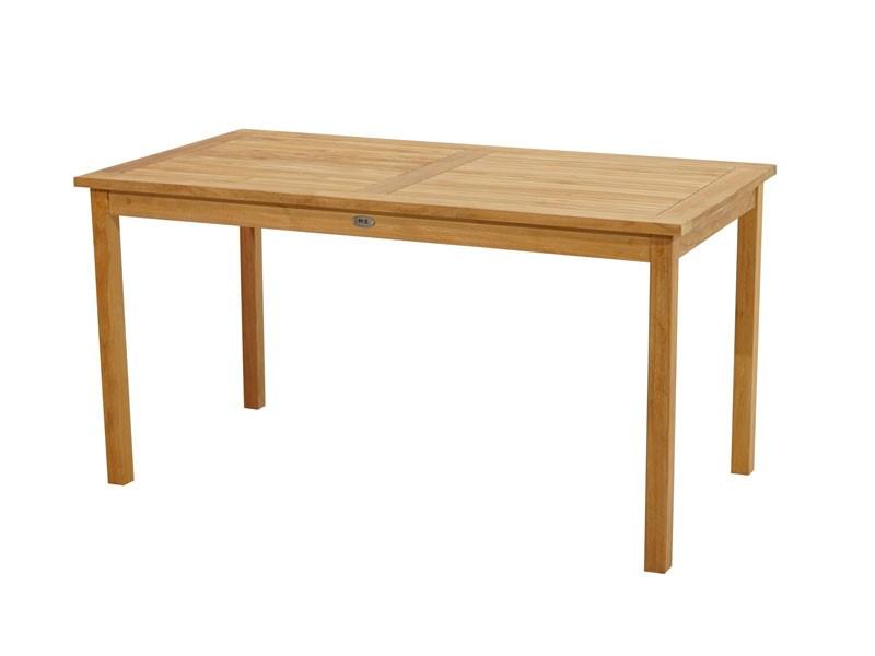 Ploss Gartenmöbel Gartentisch Memphis aus Premium-Teak  150 x 80 x 78 cm