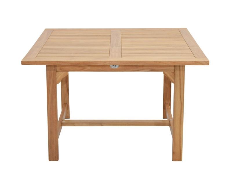 Ploss Gartenmöbel Gartentisch Coventry aus Premium-Teak  120 x 120 x 75 cm