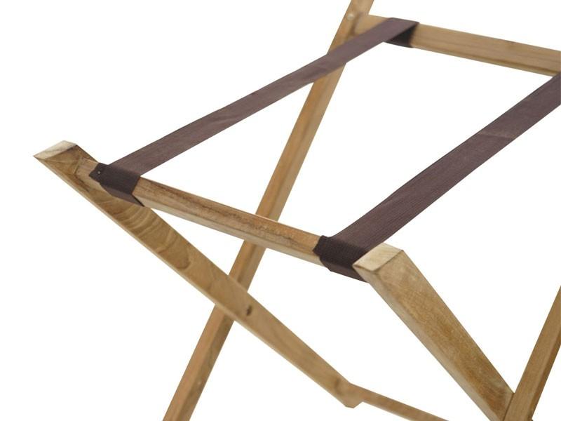 Ploss Gartenmöbel Beistelltisch York mit abnehmbaren Tablet aus Premium-Teak   68 x 45 x 70 cm