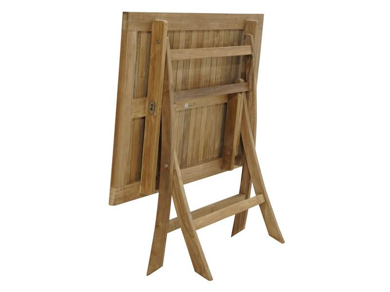 Ploss Gartenmöbel Klapptisch York aus Premium-Teak  120 x 70 x 75 cm  rechteckig
