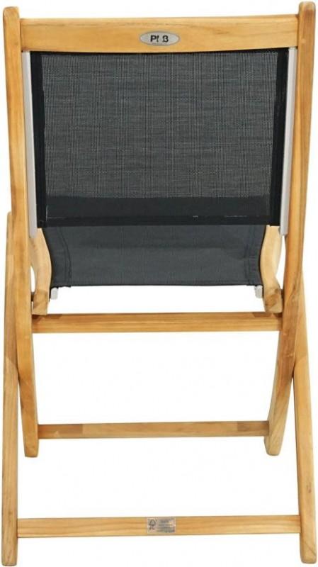 Ploss Gartenmöbel 2er Set Klappstuhl Fairchild mit Textilbespannung  50 x 59 x 91 cm