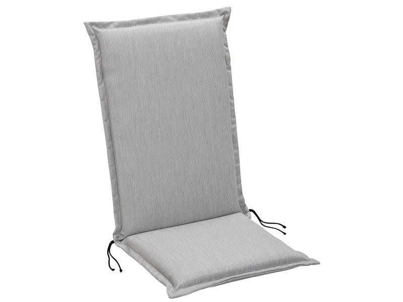 Best Sesselauflage hoch STS 120x50x7cm D.1920 Grau