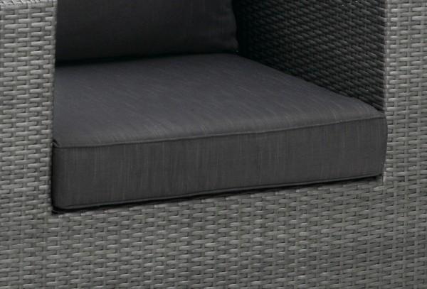 Best Lounge Sessel Aruba anthrazit/anthrazit