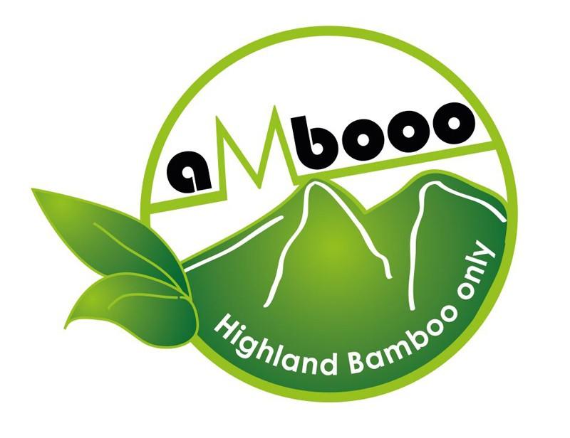 aMbooo Sichtschutzzaun Pfosten Deluxe Bambus Anschluss (H - Nut) = 2 Nuten