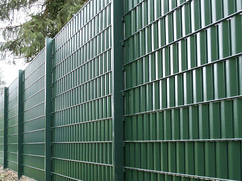 Sichtschutzstreifen - Rolle A1 Blickdicht - moosgrün