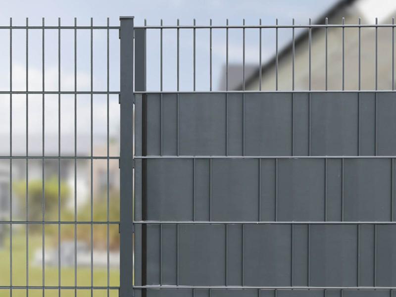 Sichtschutzstreifen - Rolle A1 Blickdicht - anthrazit