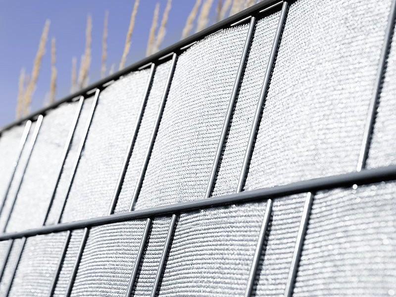 Sichtschutzstreifen Folie zaun-tex - anthrazit