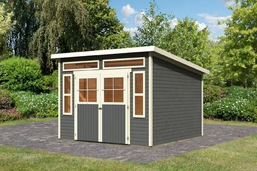 Gartenhaus Mosel 8 Farbe: terragrau