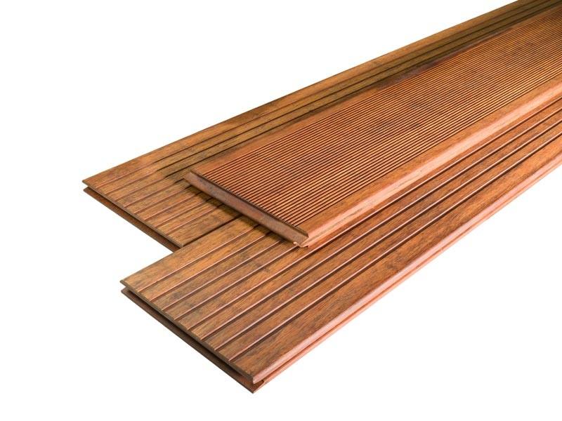Bambus Terrassendielen Set 15qm - Farbe: Prestige