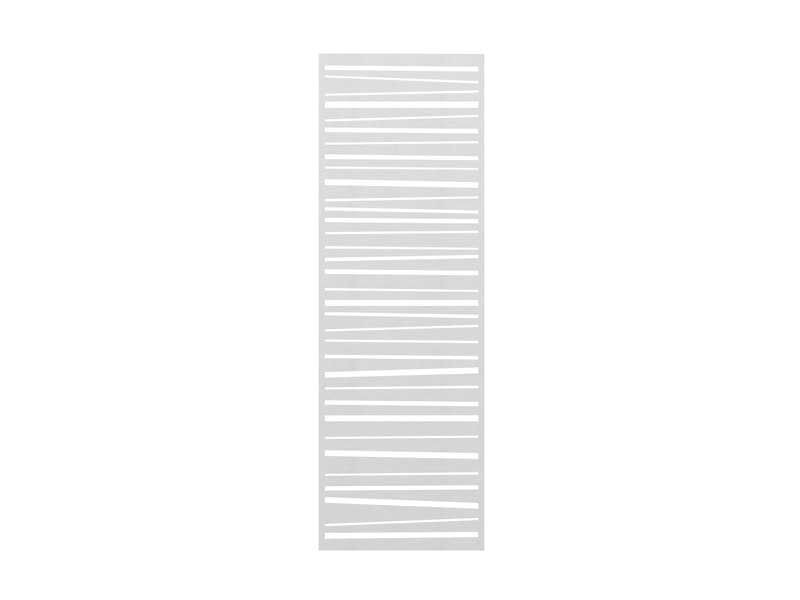 TraumGarten SYSTEM Designgitter Linea Edelstahl 60 x 180 cm