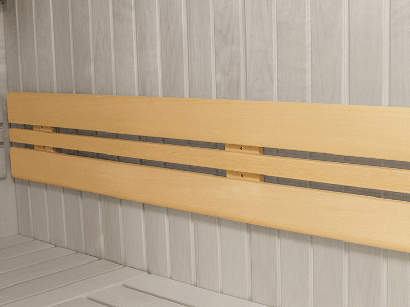 Elementbausauna Norway 2 - 70mm von Garten-Freunde - 4-Eck Sauna Fronteinstieg - 201 x 165 x 198 cm
