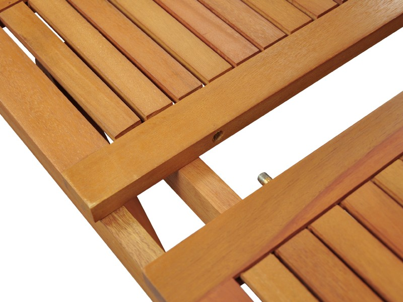 Gartenmöbel Beistelltisch Sun Flair aus Eukalyptus