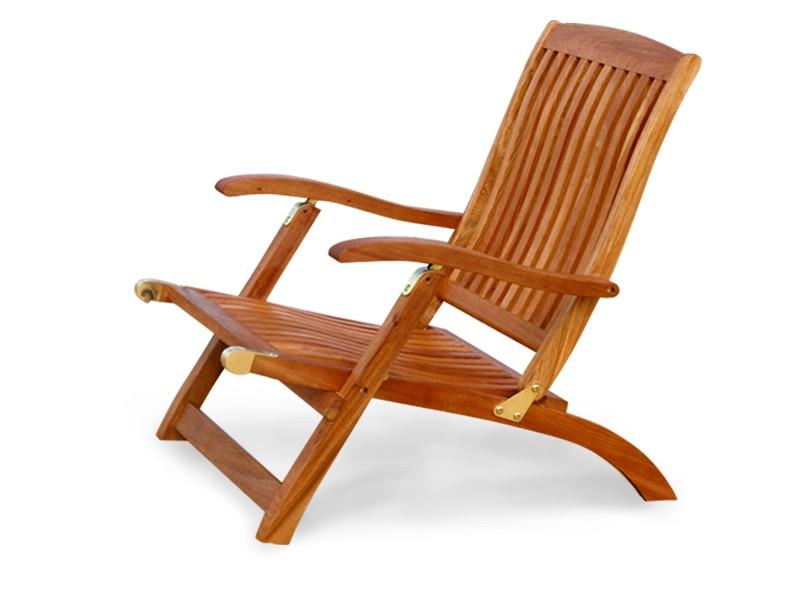 Gartenmöbel Deck Chair Sun Flair aus Eukalyptus