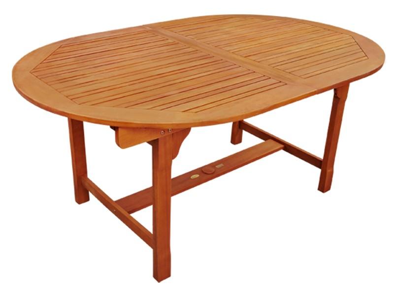 Gartenmöbel Set 5-teilig Essgarnitur inkl. 4 Stühlen - aus Eukalyptus