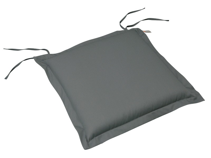 Gartenmöbel Sitzkissen Premium extra dick - Farbe: grau
