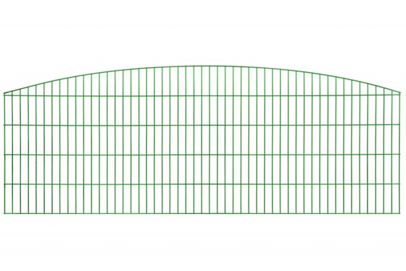 Schmuckzaun Rezidenz Sydney RAL 6005 moosgrün - Gitterhöhe: 806mm
