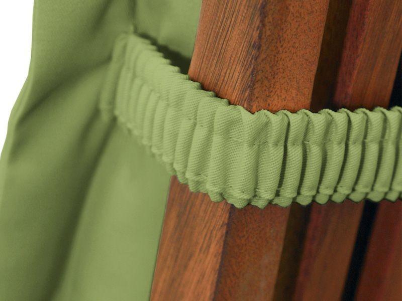 Gartenmöbel Sitzauflage Hochlehner Premium extra dick - Farbe: grün