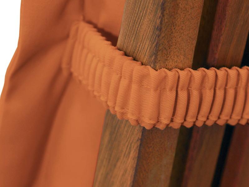 Gartenmöbel Polsterauflage Deck Chair Premium extra dick - Farbe: terra
