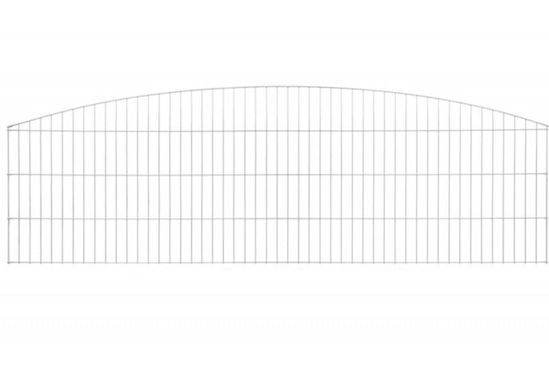 Schmuckzaun Rezidenz Sydney silbergrau verzinkt - Gitterhöhe: 1006mm