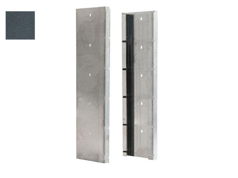 Gabionen Pfosten - Set SAPHIR / C - Profil - RAL 7016 anthrazit - Pfostenhöhe: 1645mm