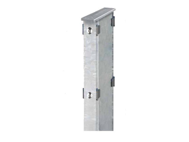 Gabionen Doppelpfosten Typ DPAA: feuerverzinkt - Pfostenlänge: 2200mm