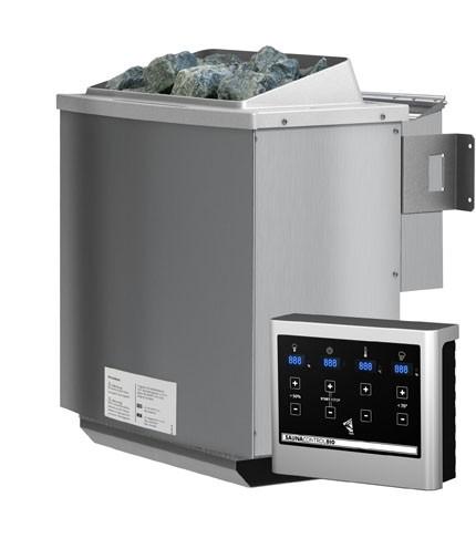 Karibu Bio-Saunaofen 4,5 kW inkl. Steuergerät für finnische Saunaöfen