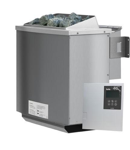 Karibu Biokombiofen 4,5 kW inkl. Steuergerät für finnische Saunaöfen