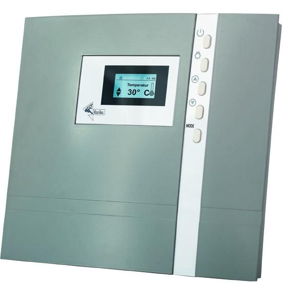 Karibu Saunaofen 4,5 kW inkl. Steuergerät für finnische Saunaöfen