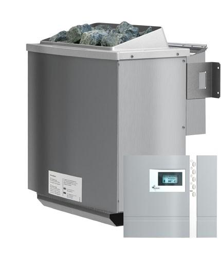 Karibu Bio-Kombi-Saunaofen 4,5 kW ohne Steuergerät finnisch und Dampsauna