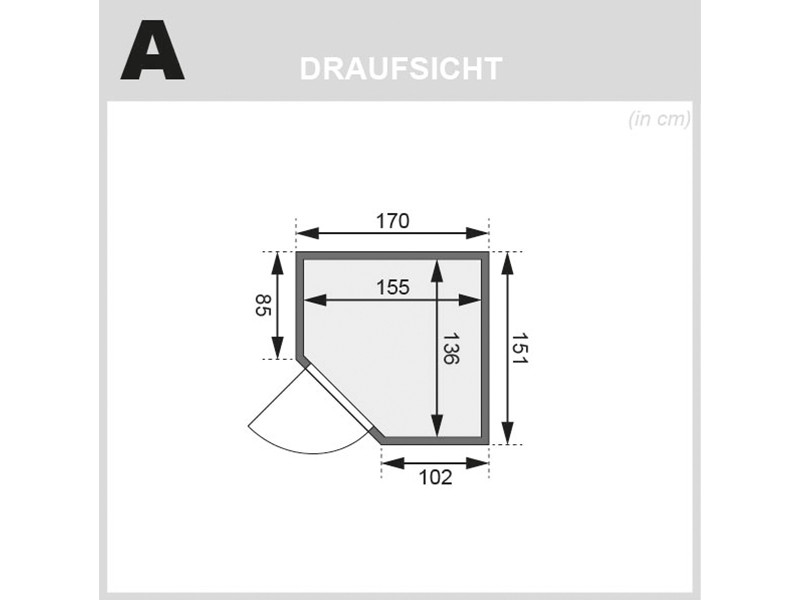 Woodfeeling 68 mm Systembausauna Faurin