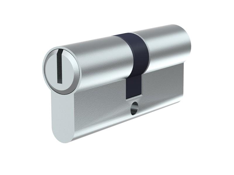 TraumGarten Sichtschutzzaun System Profil-Doppelzylinder für System-Tore