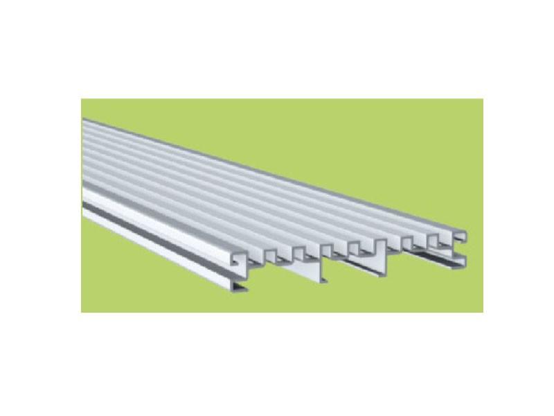 aMbooo  Drainage Diele Aluminium 2400 x 140 x 20 mm