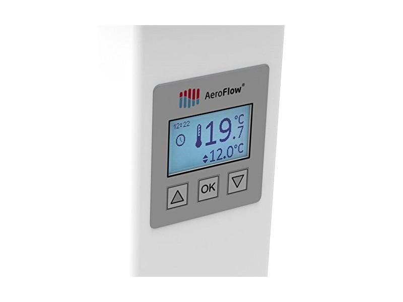 AeroFlow Elektroheizung Maxi 2450 mit Schamottekern app-ready FlexiSmart-Displayregler (Android, iOS) elektrische Zusatzheizung, Nachtspeicher Ersatz