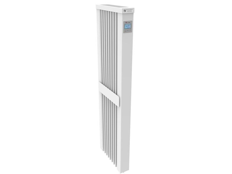 AeroFlow Elektroheizung Slim Tall 1600 mit Schamottekern app-ready FlexiSmart-Displayregler (Android, iOS) elektrische Zusatzheizung, Nachtspeicher Ersatz