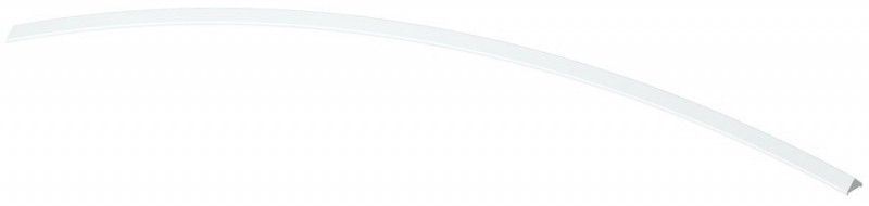 TraumGarten Aufsatzleiste Kunststoff für gebogene Elemente Longlife - 5,9 x 180 cm