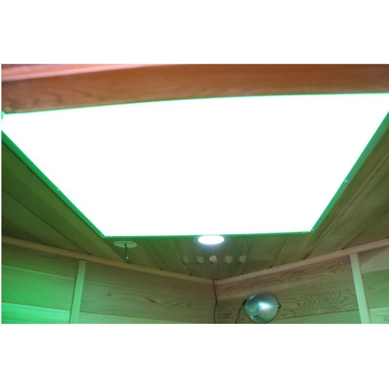 Dewello Infrarotkabine Lakefield Pro Zeder - 140 x 140