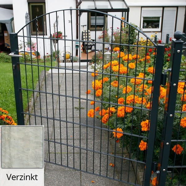Schmucktor Vario Rezidenz Sydney/Innsbruck silbergrau verzinkt - Torhöhe: 806 mm