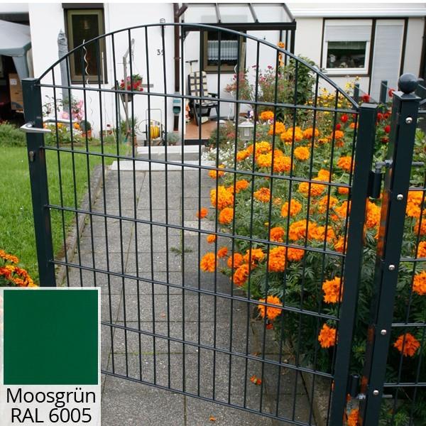 Schmucktor Vario Rezidenz  Sydney/Innsbruck RAL 6005 moosgrün - Torhöhe: 1206 mm
