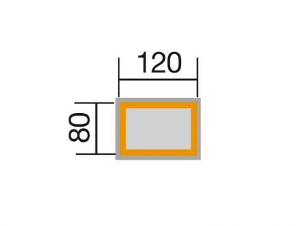Weka Profi Hochbeet wekaLine, 28 mm, anthrazit