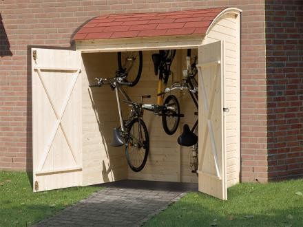 Weka Fahrrad-/Mehrzweckbox, natur