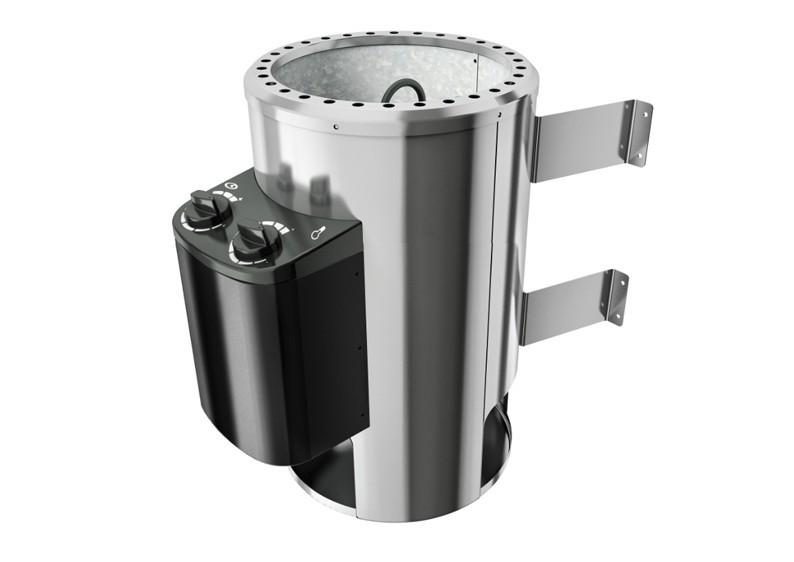 Karibu Plug&Play Saunaofen mit eingebauter Steuerung 3,6 kW (230Volt) inkl. 18 Kilo Steinen